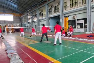 JUMAT SEMANGAT DIISI DENGAN KEGIATAN PERINGATAN ULANG TAHUN KE-75 REPUBLIK INDONESIA